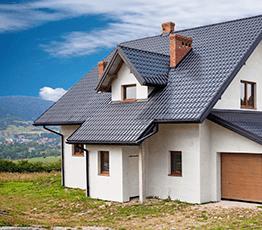 Двухэтажные дома из пеноблоков под ключ